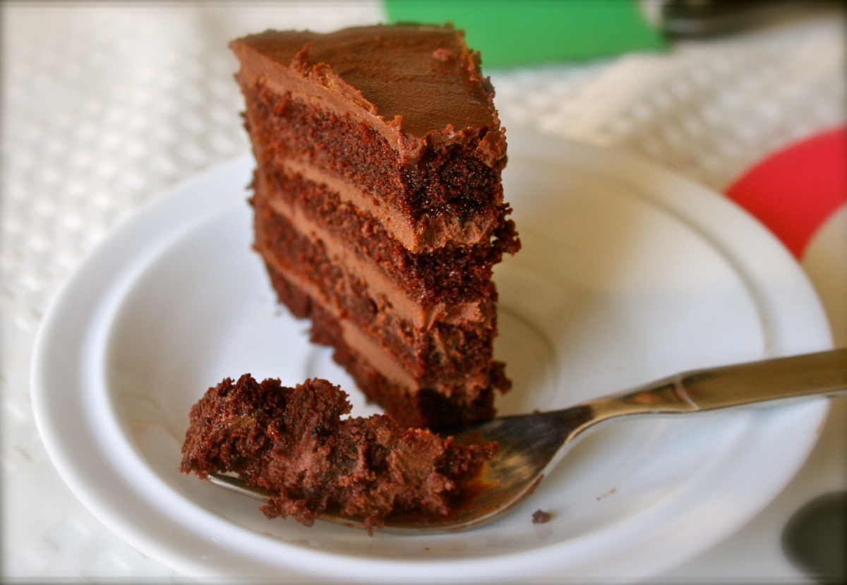 My favourite chocolate cake