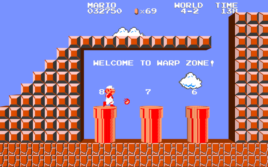 3D_Super_Mario___Warp_Zone_by_NES__still_the_best