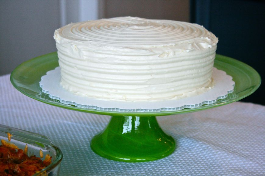 One of my 2013 foodie goals is to learn how to properly frost and decorate cakes!