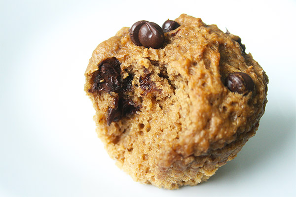 coffee chocolate chip muffins 4