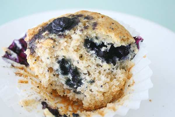 Lemon Poppy Seed Blueberry Muffins for an Angry Asian Rant | gotta get ...