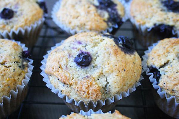 lemon poppyseed blueberry muffin 5