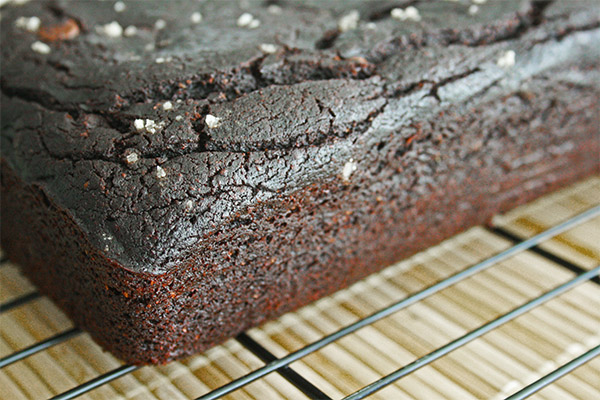 vegan chocolate loaf 3