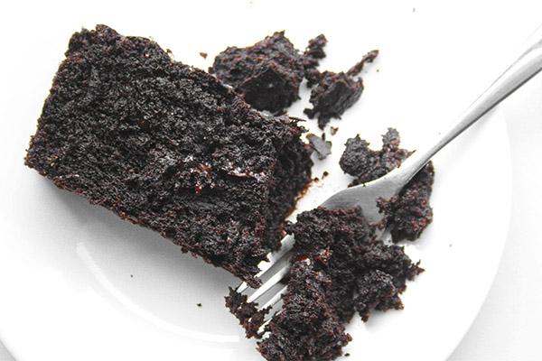 vegan chocolate loaf 4