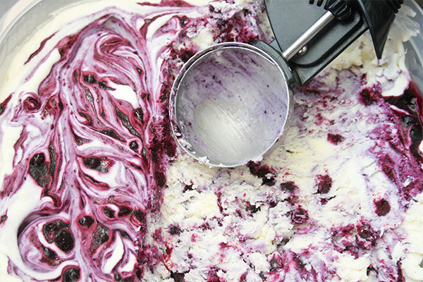 blueberry cheesecake ice cream 6