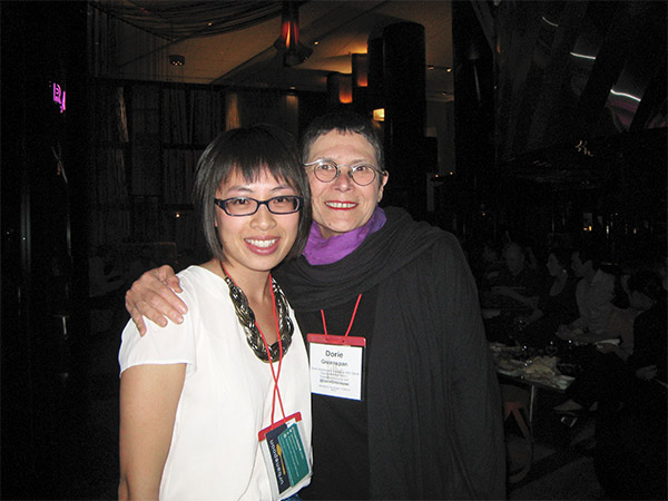 With my baking idol, the incredible, incomparable Dorie Greenspan.