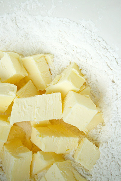 The magic of butter and flour.
