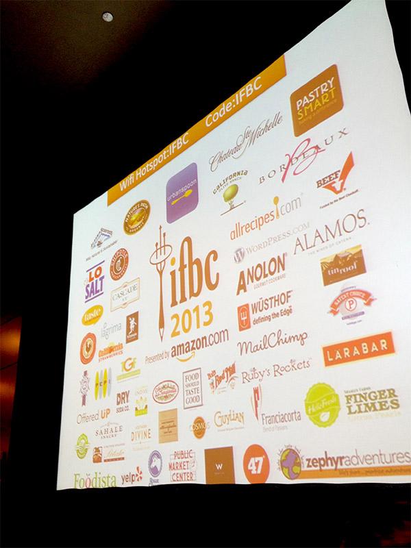 IFBC's amazing sponsors.