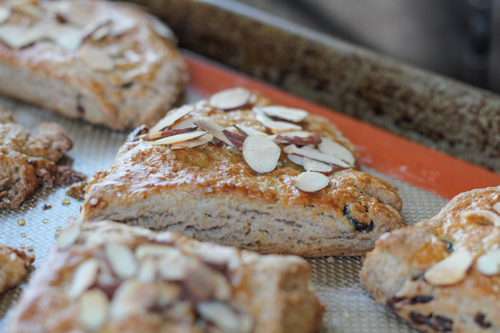 Cranberry Almond Scones_side | HipFoodieMom.com