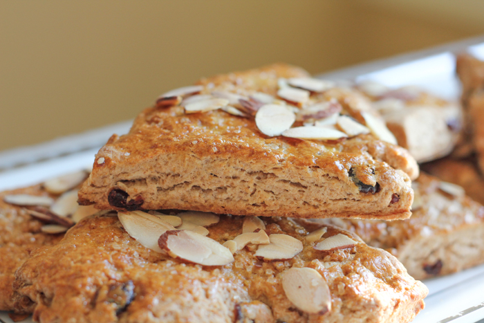 Cranberry Almond Scones_side2 | HipFoodieMom.com