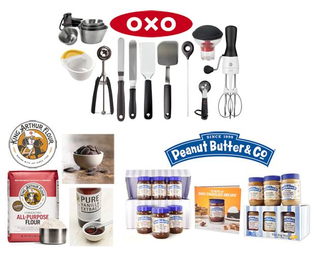 OXO | King Arthur Flour | Peanut Butter & Co. Giveaway