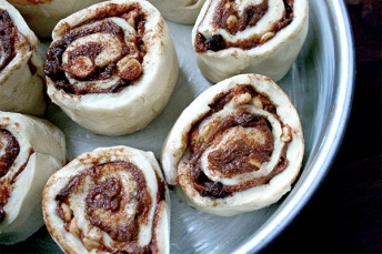 Chocolate Peanut Butter Cinnamon Rolls for Chocolate Peanut Butter Day | gotta get baked