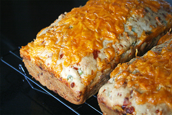 Cheesy Beer Quick Bread | gottagetbaked