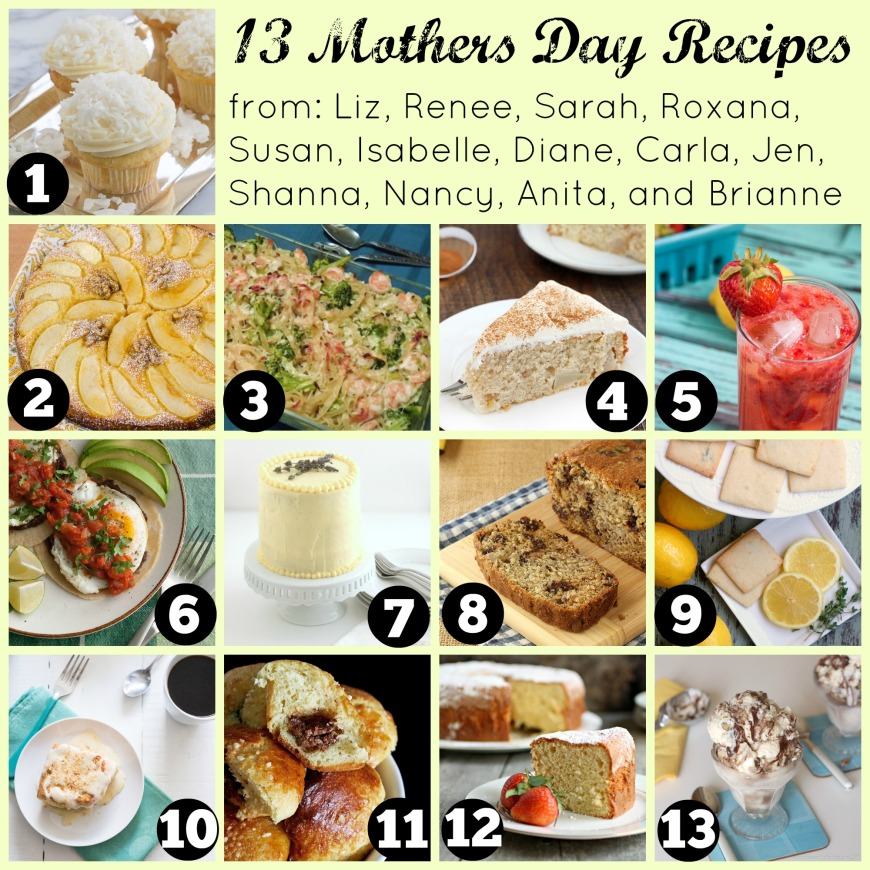 Mothers Day Recipes