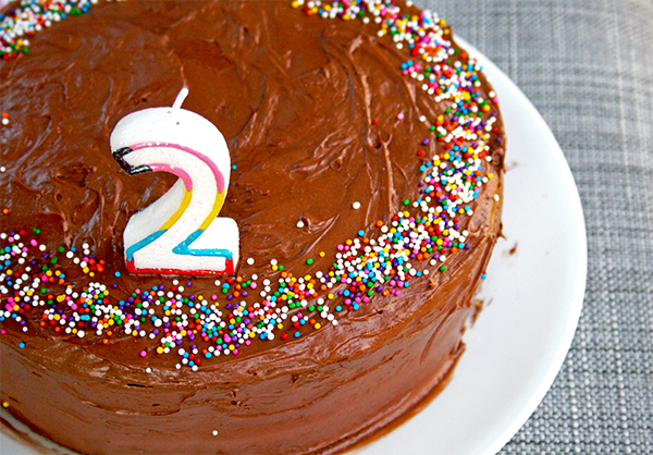 Two Year Blogiversary | gottagetbaked