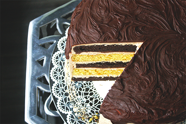 B52 Layer Cake for #BoozyDesserts Week | www.gottagetbaked.com
