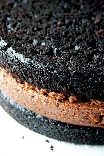 Chocolate Nutella Cheesecake Cake | www.gottagetbaked.com