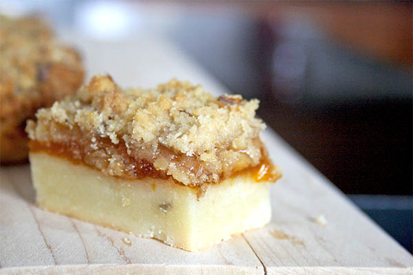 Apricot Jam Crumb Bars | www.gottagetbaked.com