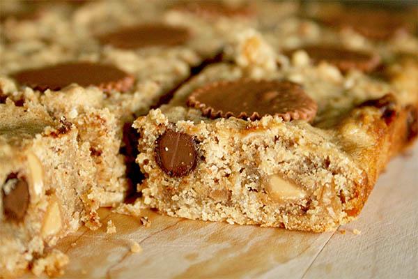 Peanut butter apple oat bars | www.gottagetbaked.com