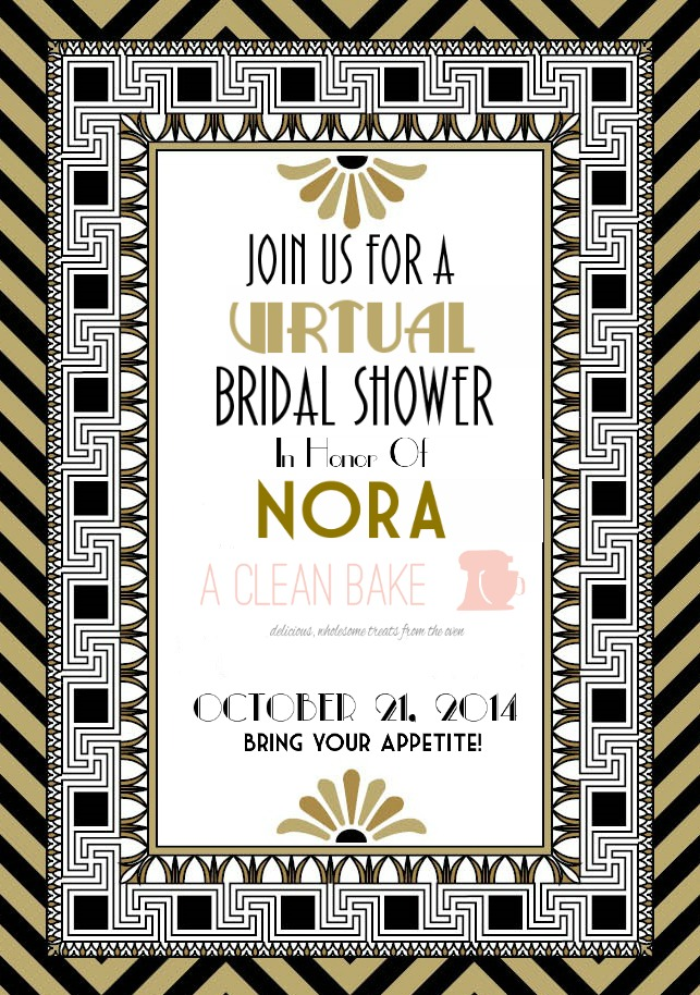 Nora's Virtual Bridal Shower