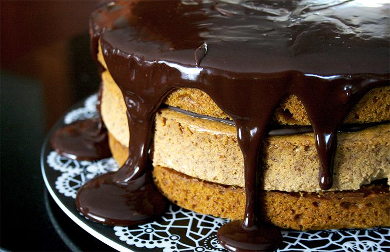 Pumpkin Cheesecake Cake | www.gottagetbaked.com