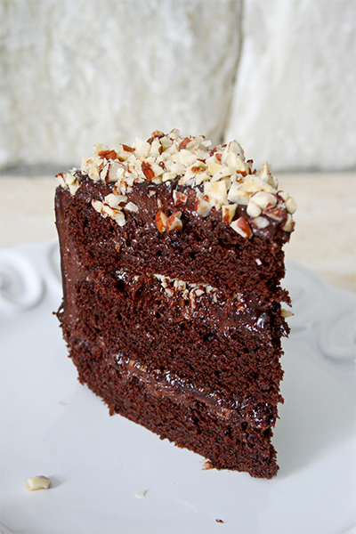 Nutella Layer Cake | www.gottagetbaked.com